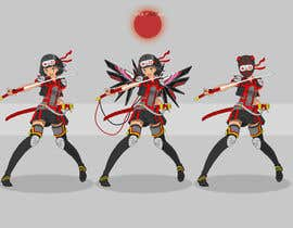 #31 for Design our female ninja mascot by Palewind