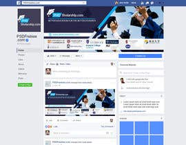 nº 8 pour design a profile and cover pictures for a facebook page par mahjabin90