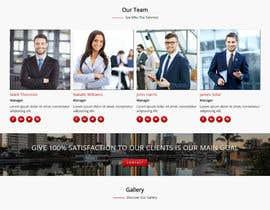 Nro 8 kilpailuun Design a Website Mock käyttäjältä antlogist