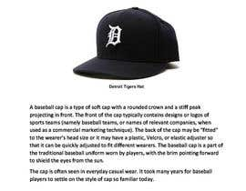 nº 17 pour The History of the baseball hat par SubheSaadik