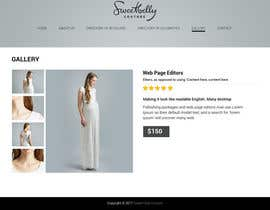 #24 for Create temporary Website (Fashion), urgent by saidesigner87