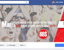 nº 11 pour Design a Facebook image / Ticket sale par sultanglt