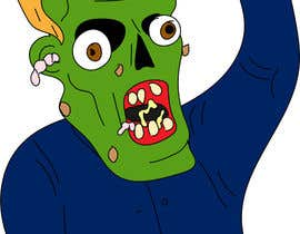 #17 for Make A Cartoon Zombie Version Of Popular Celebs by cardonaharvey
