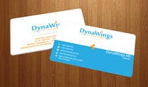 Proposition n° 19 du concours Graphic Design pour Design Business Card for DynaWings Kft