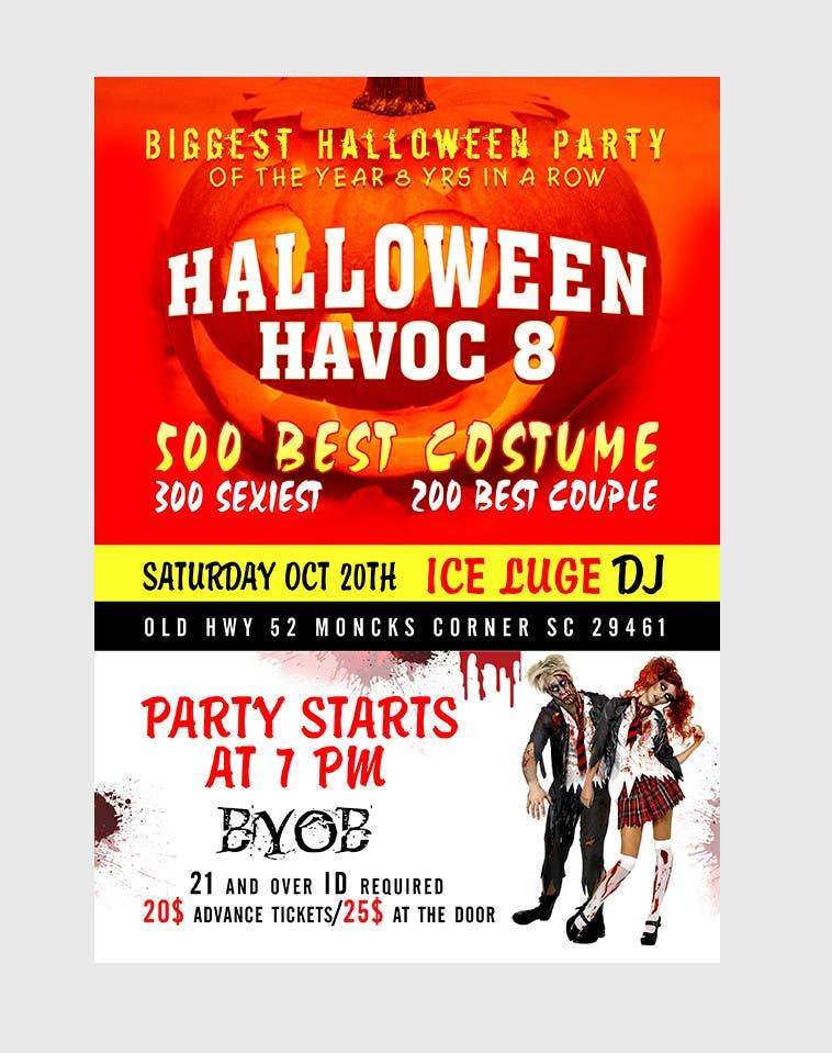 Konkurrenceindlæg #                                        29                                      for                                         Graphic Design for Halloween Havoc 8