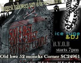 #31 for Graphic Design for Halloween Havoc 8 af ssdesign4you