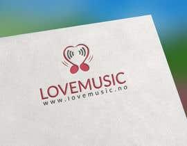 Nro 102 kilpailuun Logo for LoveMusic käyttäjältä hightechvalley