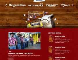 #47 for Western / Rustic Style Website Design & Subpage by rohan0571