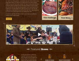 #56 for Western / Rustic Style Website Design & Subpage by tamamanoj