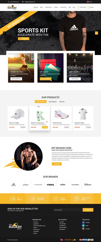Proposition n°30 du concours Design a Website Mockup