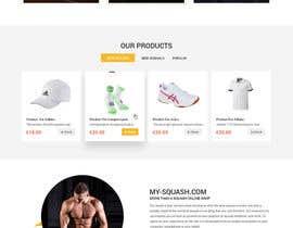 nº 30 pour Design a Website Mockup par zaxsol