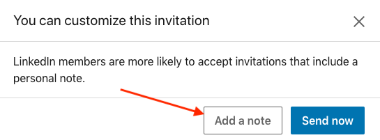 linkedin personalized invitations