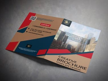 i have designed this Bi-Fold Brochure for my client.