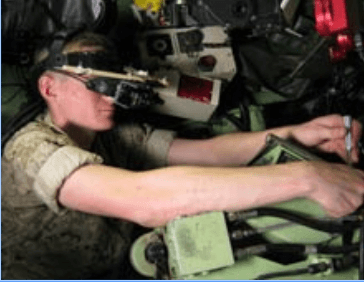 us marine mechanic and augmented reality
