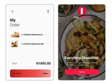 An App that connects shawarma vendors to their customers close to their location. The app handles the linking up of both parties and order request is sent directly to the vendor closest to the customer with the highest rating if the vendors is not busy otherwise the next best vendor is assigned