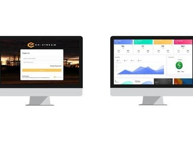 En-stream is a cloud-based Energy and Resource Management solution to Monitor and Control Energy Generation and Consumption, and Industrial Process Control Devices. I have worked on the project from requirement gathering phase up to final hardware integration and deliverable.  https://www.en-stream.com