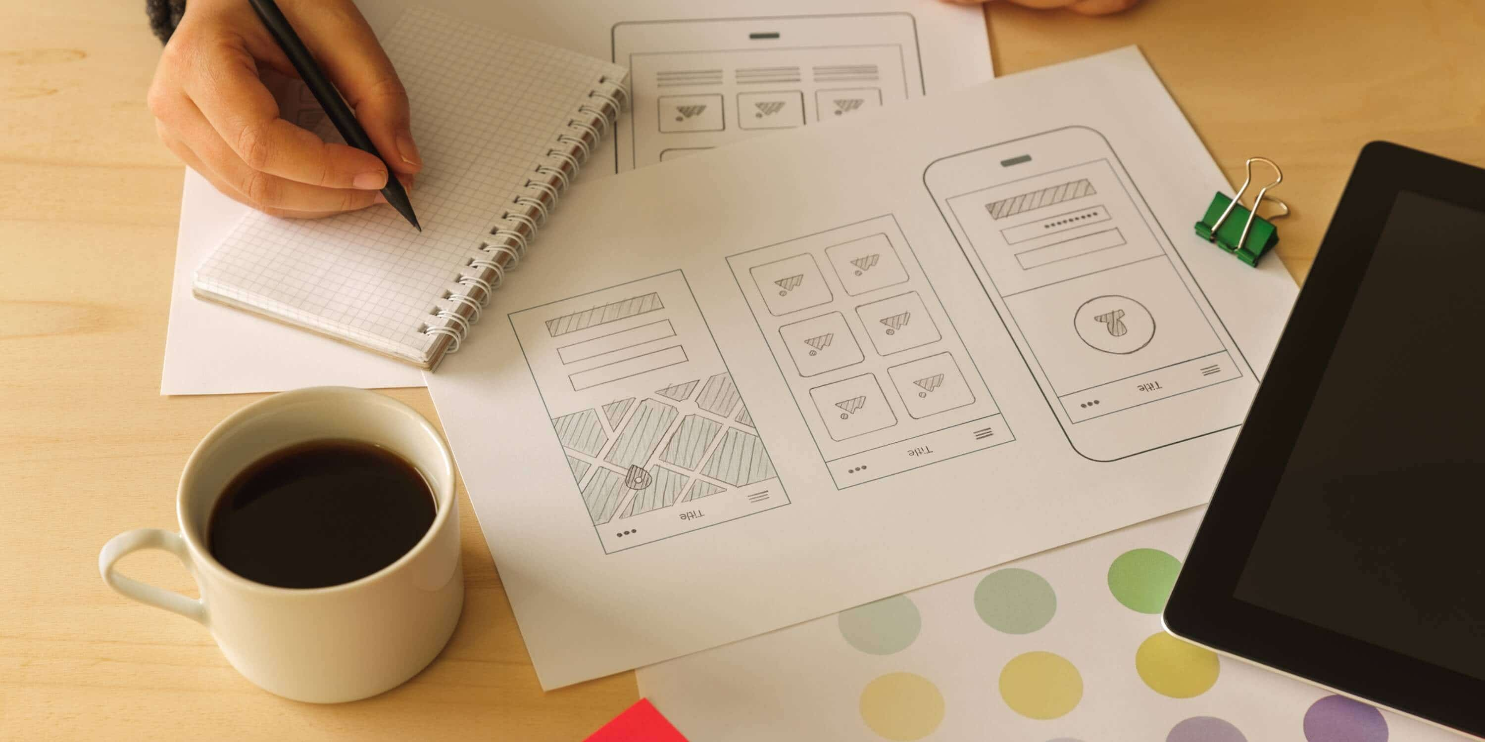 Cover photo for How to use Sketch for wireframing a website