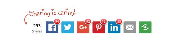 social sharing widgets