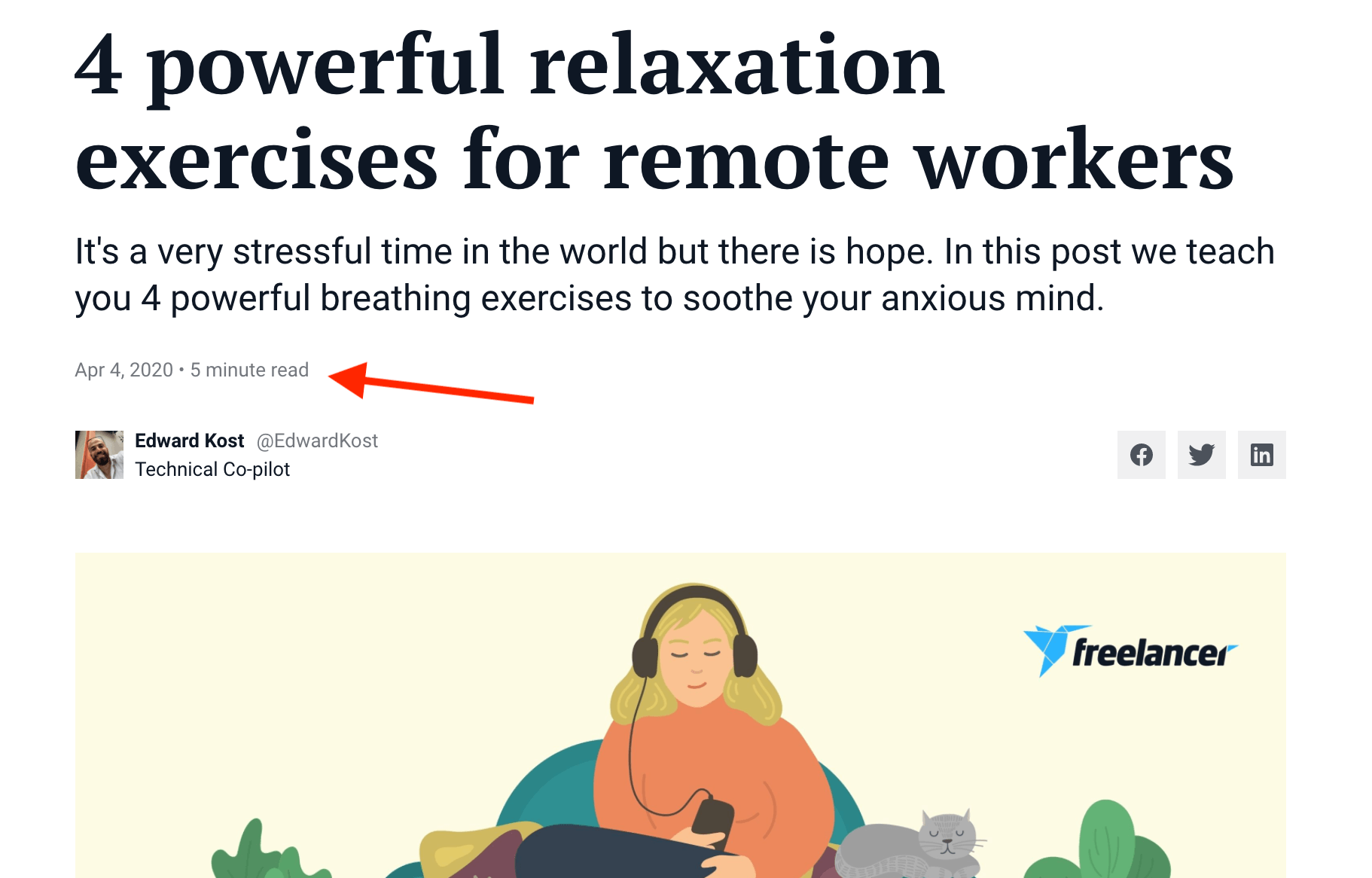 relaxation techniques for remote workers