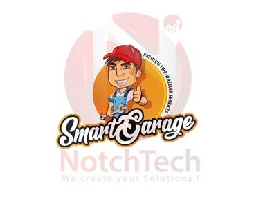 Mascot Logo : Smart Garage