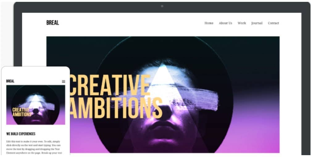 weebly template edison breal