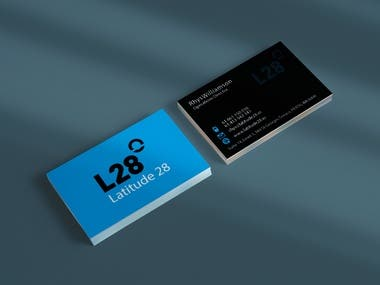 this is business card design