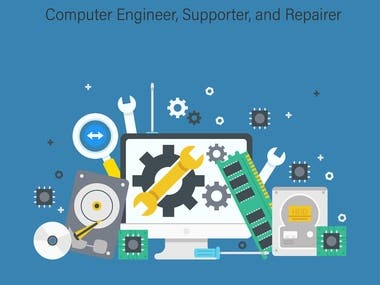 I am a computer engineer. I can be helpful for you with computer support and also computer repair.