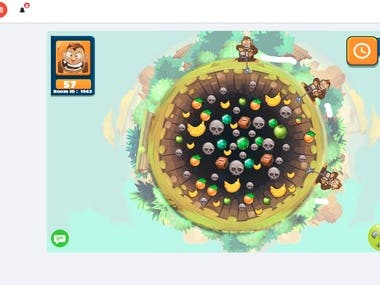 I made several online game using node, socket.io. It was very challenge and happy to create new game.