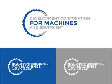 Abdullah needed a logo for his industrial marketing company called Development Corporation for Machines and Equipment (DCME). I send him three initial concepts and he chose one.