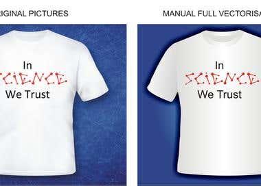 t-shirt vectorization