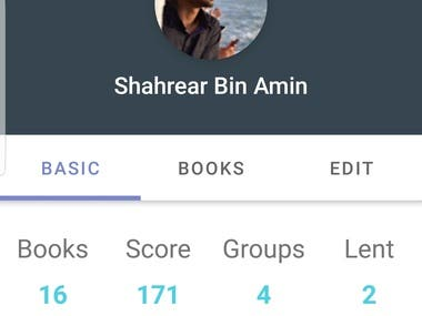"""A book-sharing application with the co-operation of Dhaka University Science Society, Boier Feriwala, Shopno Siri and it's available in the play store. An idea to utilize personal possession of books by creating an online platform through which people can share their books with others.  Sharing books among friends and family is a common practice to read more books at a low cost. This process can be scaled and made more convenient. Imagine being part of a community of thousands of members who you can borrow books from with the convenience of an app. Meeting up with fellow bookworms to collect the book adds to the experience. """"Community Library"""" makes all of this possible.  Reading books increases self-awareness, empathy, and critical thinking. All rare qualities in a society increasingly addicted to social media. A youth population with these virtues will be empowered to create a better tomorrow.  https://play.google.com/store/apps/details?id=com.sasam.communitylibrary&hl=en"""