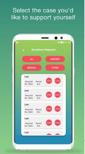 for donation purpose