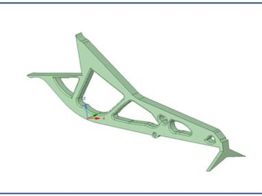 The Tool Used for Topology Optimization: fusion360 For Material Selection: CES Software