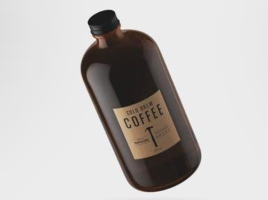 Cold Brew Coffee | Logo Design