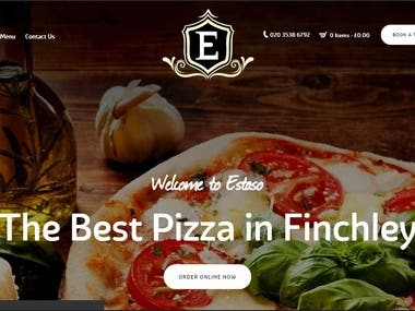 Pizza delivery website Are you in the mood for delicious food using fresh ingredients at an affordable price? If so, then we are the destination for you. We opened Estaso to offer scrumptious food to our diners that can be enjoyed in our restaurant or in the comfort of your home. Our menu features many mouth-watering dishes. We love doing our part to feed the local community.
