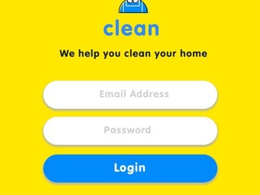 Cleaning App