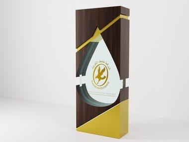 Modern trophy design