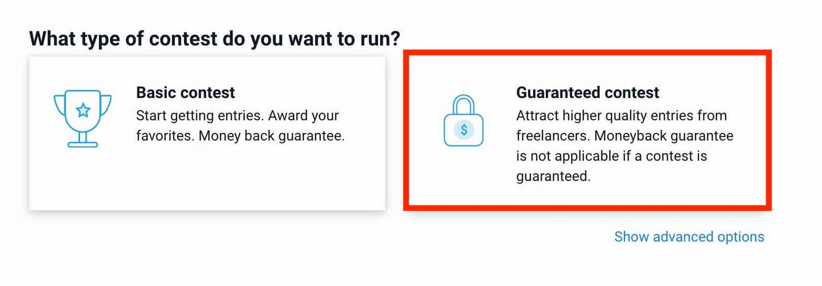 how to post a contest on freelancer