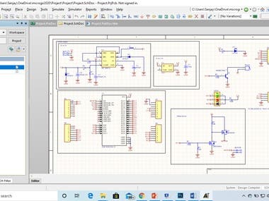 Design of PCB from the concept . Hardware desgin ,schematic design ,PCB layout