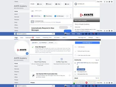 Worked in the following platforms:  - Facebook | Instagram | Twitter | Youtube | LinkedIn | Pinterest  https://www.facebook.com/avateacademy/ https://www.linkedin.com/company/54315666/admin/ https://www.pinterest.com/pin/191121577926044509/?nic_v2=1a5WHJTK1  My Services: - Advertising Campaign design - Content creation - Pixel set-up - Business Manager and Ads Manager Set-up