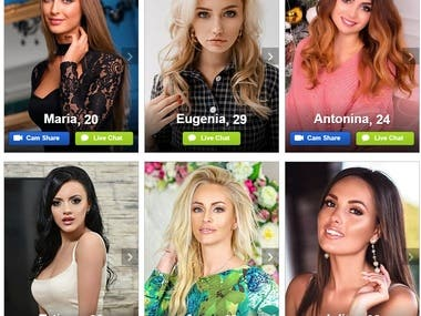One of the world's biggest dating site. https://www.anastasiadate.com/