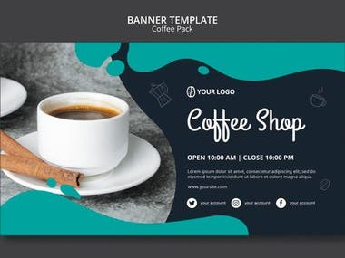 MY own uniique and creative Banner Design sample work