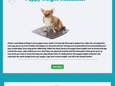 This is a total frontend site. Designed for a dog company. Have a look at the website here : http://gautamarora-com.stackstaging.com/monkoodog.html