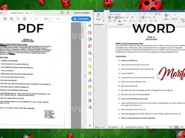 convert pdf to word and word to excel