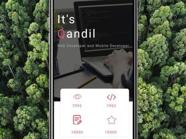 A complete website design and construction to be a website and application for smartphones