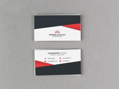 Here is my top 20 Minimal Business Card Design. If you need Business Card Design Then you can contact me.