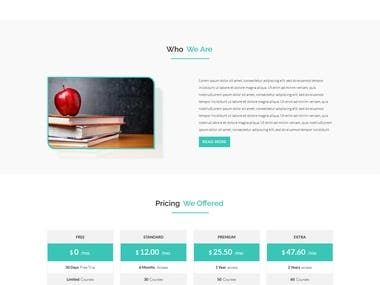 edu web design