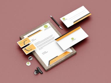Hello! Welcome to my Business card and stationery Portfolio.  I am a professional business card and stationery designer. I can create an excellent and attractive stationery style for your brand or company as you can see in my gig. My design will give a distinctive identity to your company in the market place.   Here you will get a modern business card and stationery style. I will provide you simple and eye-catching design. If you really want a stunning idea for your company inbox me for further details.
