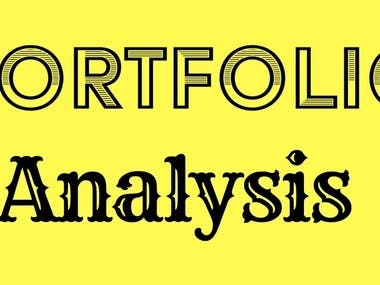Portfolio Analysis and Evaluation of Project Management Techniques