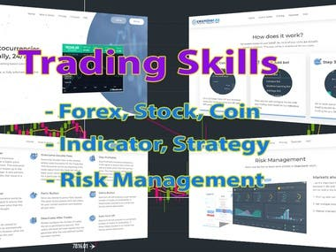 Trading is one of my top skill